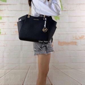 Michael Kors JST Large Chain Shoulder Bag